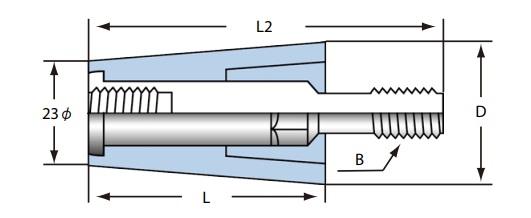 ロングPコン N.type 30Φ