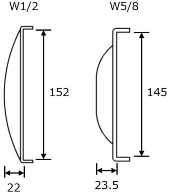 SP座金(角パイプ座金)図